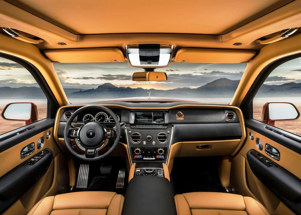 2020 Rolls-Royce Cullinan Interior Features