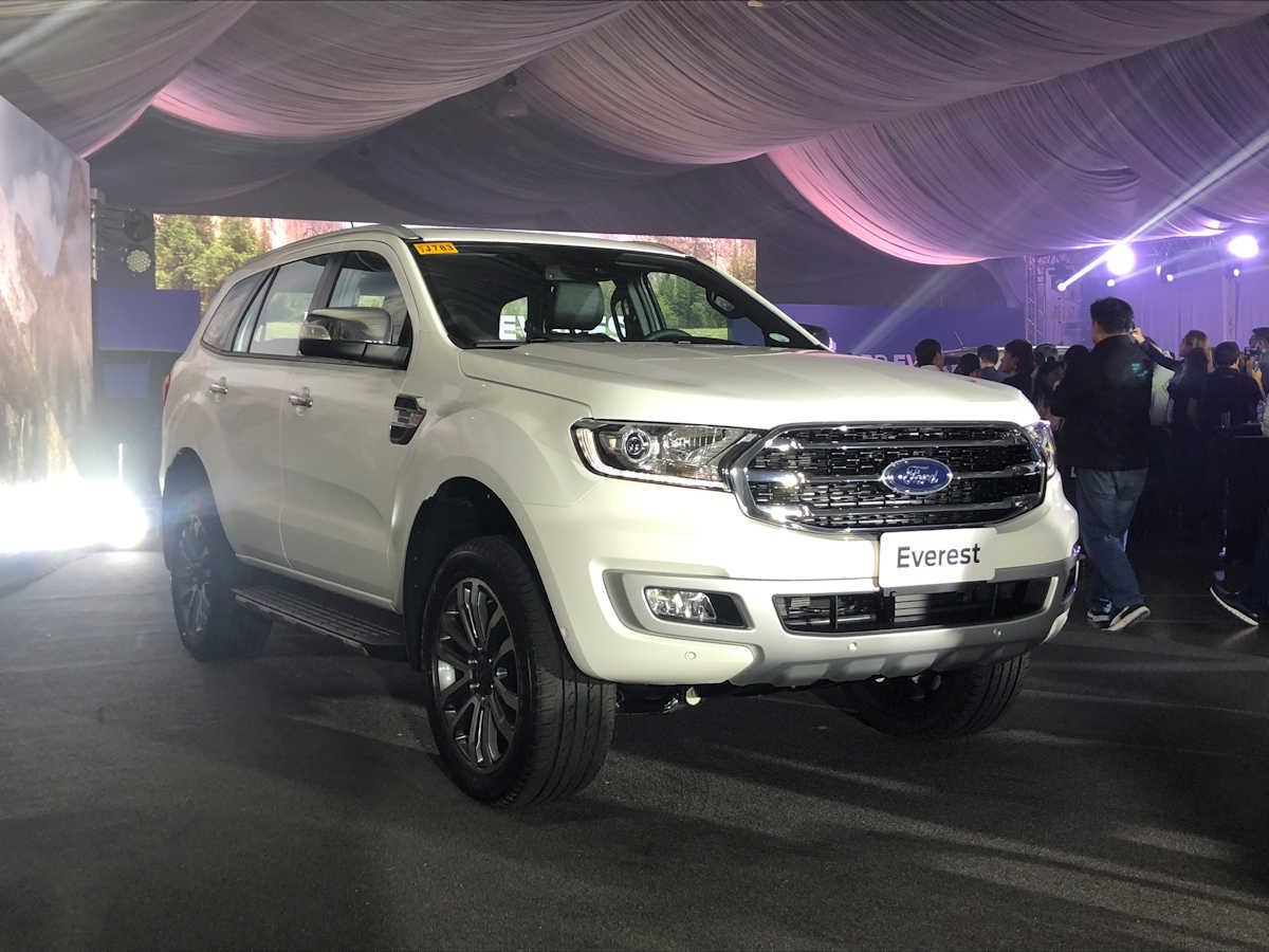 2021 Ford Everest Prices